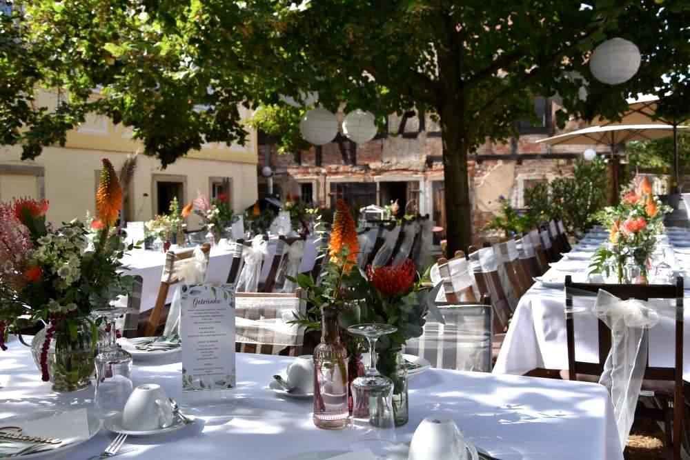 Hochzeit Lokation in Radebeul auf dem Weingut Haus Steinbach