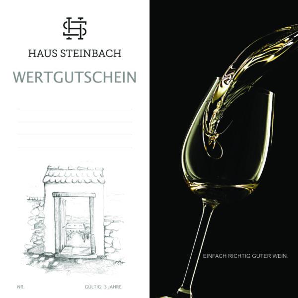 Gutschein Weingut Haus Steinach