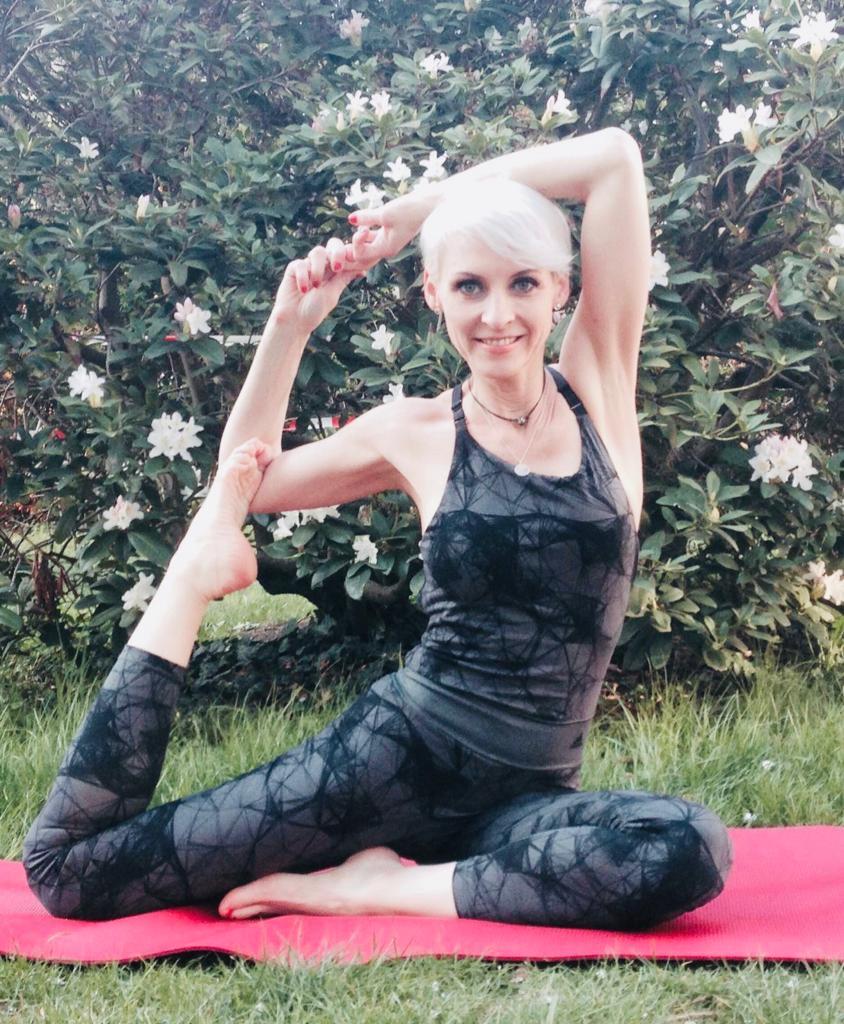 yoga meets weingut
