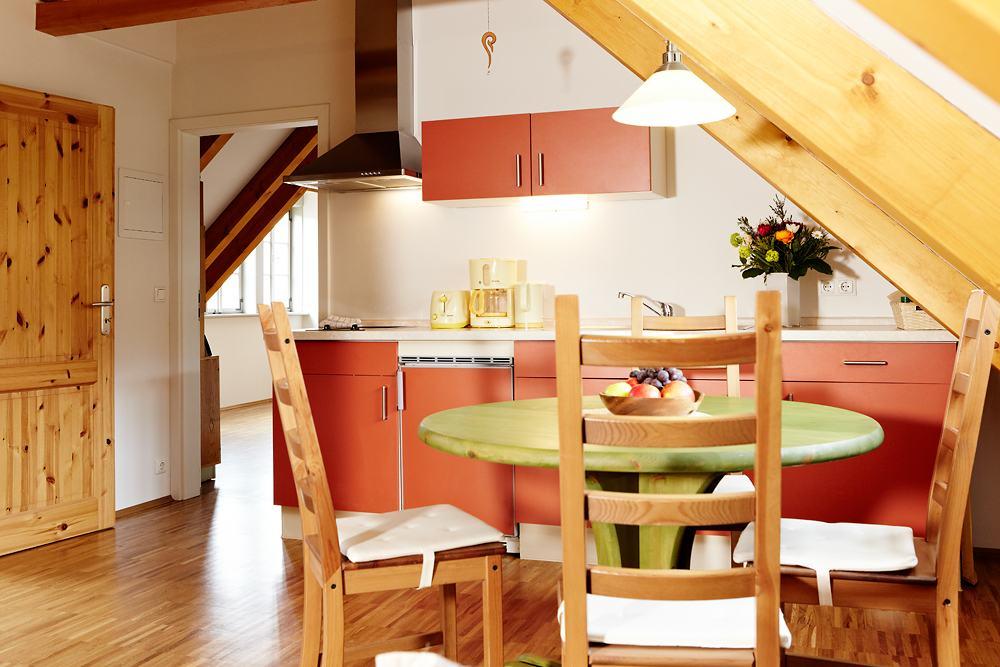 Ferienwohnung 3 Küche