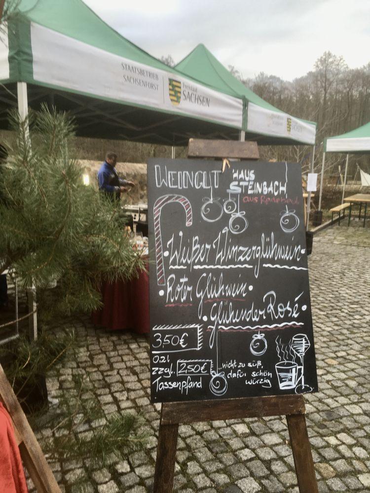 Winzerglühwein im Forsthaus Kreyern