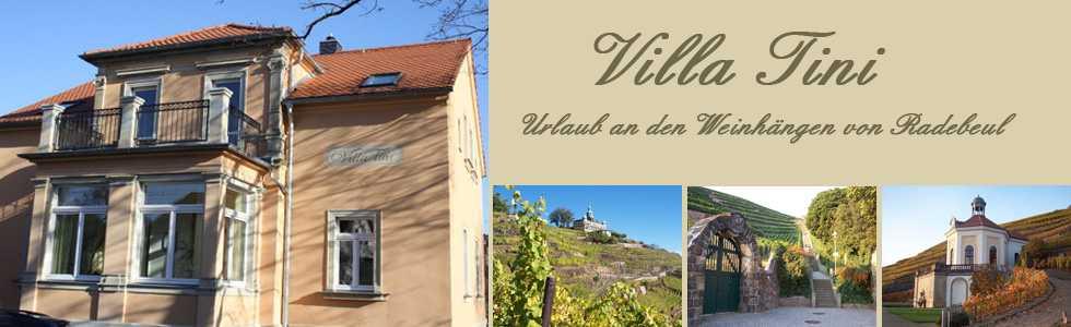 Villa Tini in Radebeul