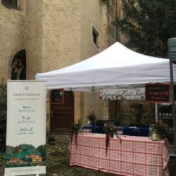 Unser Stand auf Weinfest der Pirnaer Weinfreunde